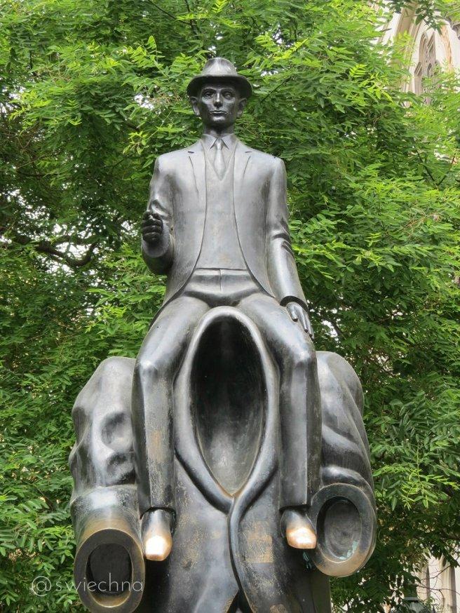 Praga pomnik Kafki